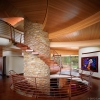Robert Oshatz designed residence in Wisconsin.  Image by New York based architecture photographer Cameron R Neilson