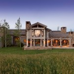 Exterior by Jackson Hole Wyoming Architect Danny Williams